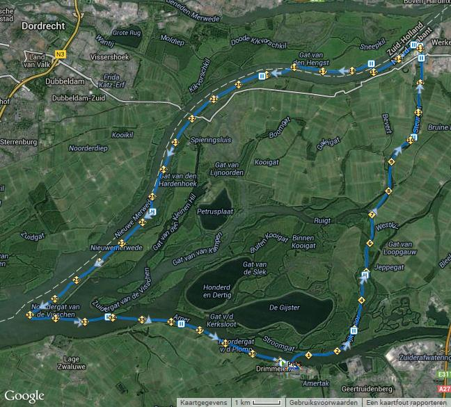 Biesboschroute40km