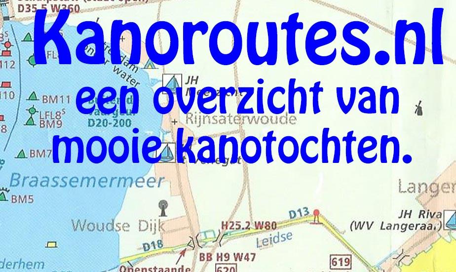 Meander_Baarnse_kanovereniging_Kanoroutes